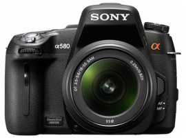 DSLR-A580L-Interchangeable Lens Camera-DSLR-A580