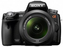 SLT-A33L-Interchangeable Lens Camera-SLT-A33