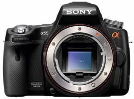 SLT-A55V-Interchangeable Lens Camera-SLT-A55V