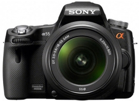 SLT-A55VL-Interchangeable Lens Camera-SLT-A55V