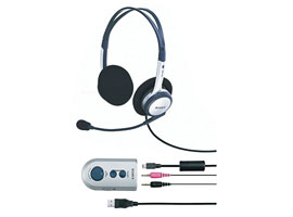 DR-260USB-Headphones-PC Headset Headphones