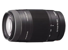 SAL75300-Interchangeable Lens-Zoom