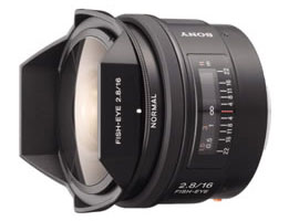 SAL16F28-Interchangeable Lens-Fixed Focal Length