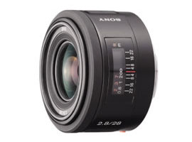 SAL28F28-Interchangeable Lens-Fixed Focal Length