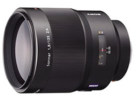 SAL135F18Z-Interchangeable Lens-Carl Zeiss® Lens
