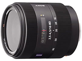 SAL1680Z-Interchangeable Lens-Carl Zeiss® Lens