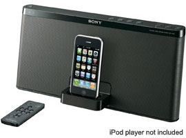 RDP-X50iP-Audio Docks-iPod/iPhone Docks