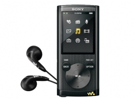NWZ-E455/B-Walkman® Digital Media Players-E Series
