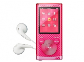NWZ-E453/P-Walkman® Digital Media Players-E Series