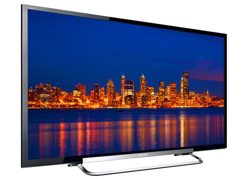 Sony Bravia KDL50R550A unbox & review - YouTube