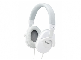 MDR-ZX500/W-Headphones-Sound Monitoring Headphones