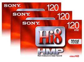 3P6-120HMPL-Video Media-8mm Tape
