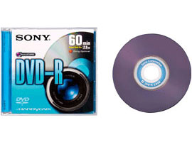DMR60DSS1-Video Media-8cm DVD