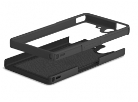 XPERIAZBUMPERBLACK-Mobile Phone Accessories-Cases