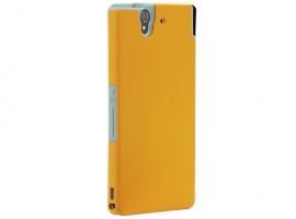 XPERIAZBUMPERORANGE-Mobile Phone Accessories-Cases