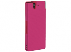 XPERIAZBUMPERPINK-Mobile Phone Accessories-Cases