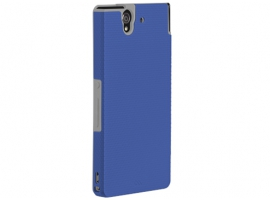 XPERIAZBUMPERBLUE-Mobile Phone Accessories-Cases