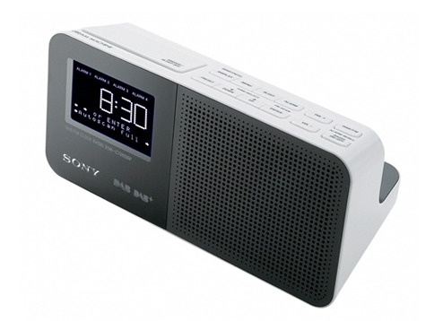 sony xdrc706dbp digital clock radio with dab dab band iii seconds ebay. Black Bedroom Furniture Sets. Home Design Ideas