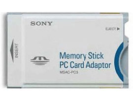 MSAC-PC3/N-Memory Stick/SD Memory Card-Adaptor