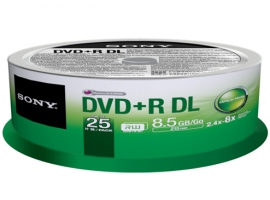 25DPR85SP-Data Storage Media-DVD