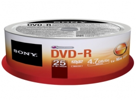 25DMR47SP-Data Storage Media-DVD
