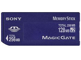 MSH-128S-Memory Stick/SD Memory Card-Duo