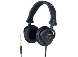 MDR-V500DJ-Headphones-Sound Monitoring Headphones