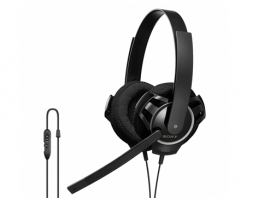 DR-GA100/B-Headphones-PC Headset Headphones