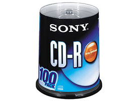 100CDQ80C-Data Storage Media-CDR