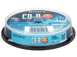 10CDQ80S1SP-Data Storage Media-CDR