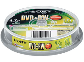 10DPW47S1SP-Data Storage Media-DVD
