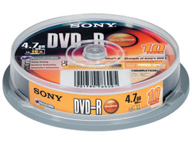 10DMR47S3SP-Data Storage Media-DVD