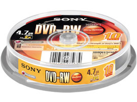 10DMW47S2SP-Data Storage Media-DVD