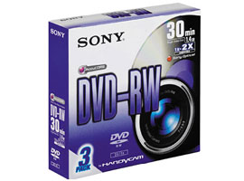 3DMW30S2-Video Media-8cm DVD