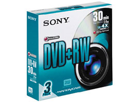 3DPW30S2-Video Media-8cm DVD