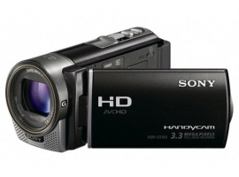 HDR-CX160E-Handycam® Camcorder-Flash / Memory Stick