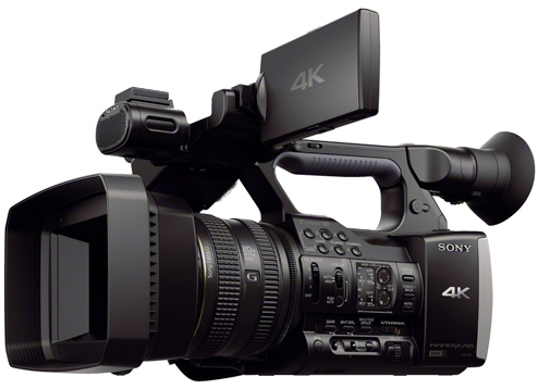 FDR-AX1E : 4K Handycam : Handycam® Camcorder : Sony Australia