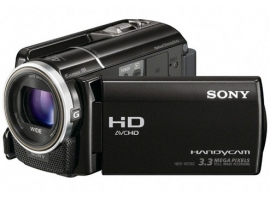 HDR-XR160E-Handycam® Camcorder-Hard Disk Drive (HDD)