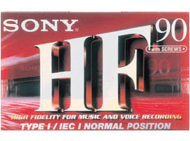 C-90HFB-Audio Media-Audio Tape