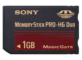 MS-EX1G-Memory Stick/SD Memory Card-Memory Stick PRO-HG Duo™