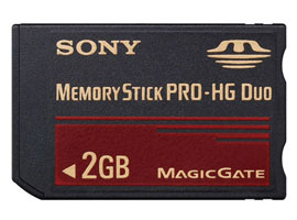 MS-EX2G-Memory Stick/SD Memory Card-Memory Stick PRO-HG Duo™