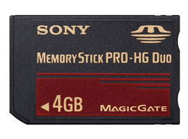 MS-EX4G-Memory Stick/SD Memory Card-Memory Stick PRO-HG Duo™