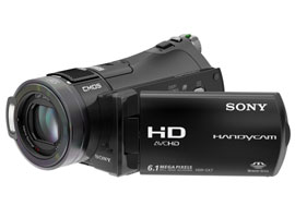 HDR-CX7K-Handycam® Camcorder-Flash / Memory Stick