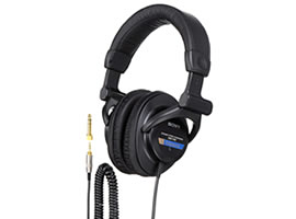 MDR-7509-Headphones-Sound Monitoring Headphones