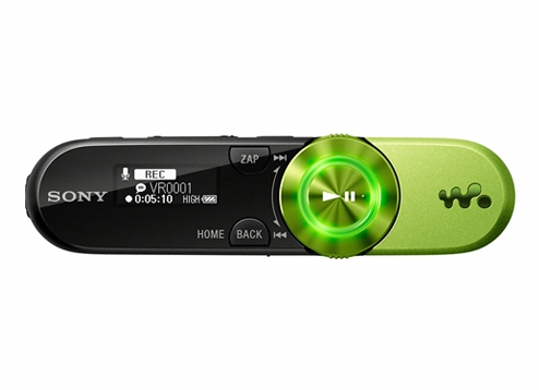 sony walkman zappin nwz w252 manual