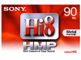 P5-90HMP3-Video Media-8mm Tape