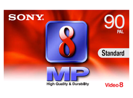 P5-90MP3-Video Media-8mm Tape
