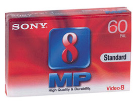 P5-60MP3-Video Media-8mm Tape