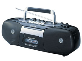 CFS-B5SMK2/B-CD / Radio / Cassette Player-Radio Cassette Player