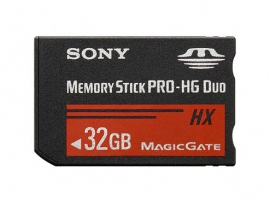MS-HX32B-Memory Stick/SD Cards-Memory Stick PRO-HG Duo™